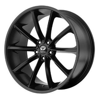 Lorenzo WL032 20x8.5 Black Wheel / Rim 5x4.25 with a 35mm Offset and a 63.40 Hub Bore. Partnumber WL03228530735 Automotive