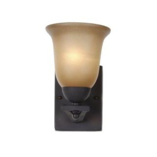 Commercial Electric Rustic Iron 1 Light Sconce ESS1311