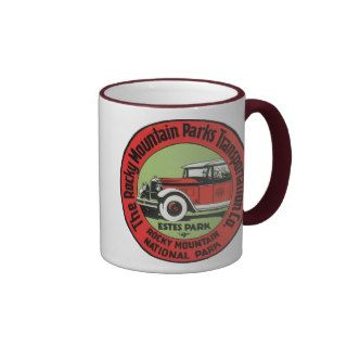 Rocky Mountain National Park Coffee Mugs