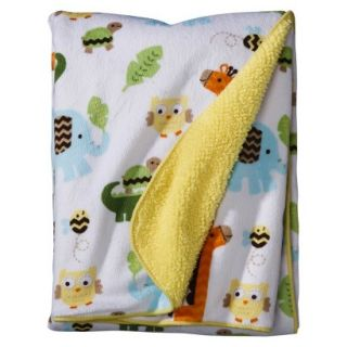 Soft Valboa Baby Blanket   Jungle Stack by Circo