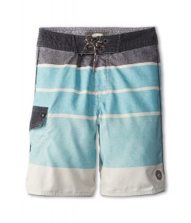 Rip Curl Kids Pittsburg Scallop Boardshort Boys Swimwear (Blue)