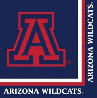 Club Pack of 240 NCAA Arizona Wildcats 2 Ply Tailgating Party Lunch Napkins Kitchen & Dining