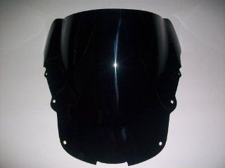 Black Windshield Windscreen for Honda CBR1100XX 1997 1998 1999 2000 2001 2002 2003 2004 2005 2006 Automotive