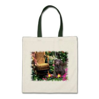 Labrador Retriever Art Gifts Canvas Bags
