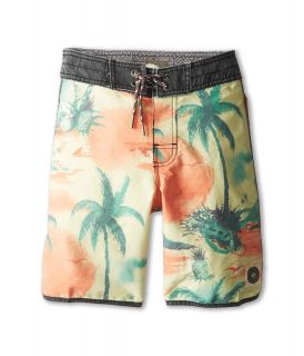 Rip Curl Kids Dreamer Scallop Boardshort Boys Swimwear (Orange)