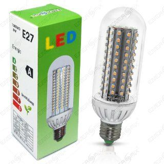 E27 LED Lampe mit 138 LED Energiesparlampe Led Birne Leuchtmittel   Warmweiss 8 Watt Beleuchtung