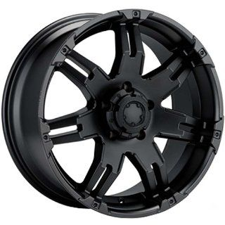 Ultra Gauntlet 18 Black Wheel / Rim 5x5 with a 12mm Offset and a 78 Hub Bore. Partnumber 238 8973B Automotive