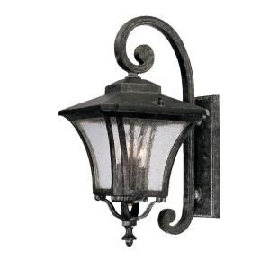 Acclaim Lighting Tuscan Collection Wall Mount 3 Light Outdoor Stone Fixture 6022ST