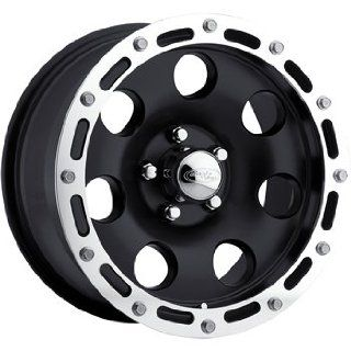 American Eagle 137 17 Black Wheel / Rim 8x6.5 with a  4mm Offset and a 130.18 Hub Bore. Partnumber 13788888 Automotive