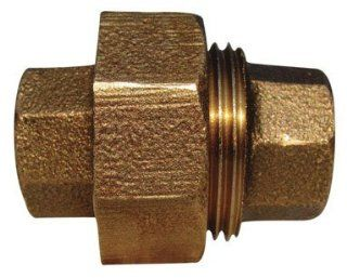 Red Brass Threaded Union (ab104rb d)   Pipe Fittings