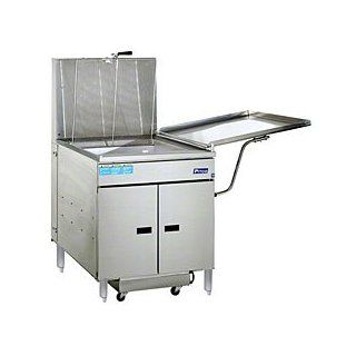 117 Lb Gas Donut Fryer   Pitco 24RUFM Deep Fryers Kitchen & Dining