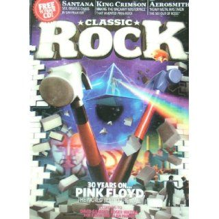 Classic Rock Magazine, Issue 139, December 2009 (with Free CD) (Pink Floyd The Wall 3 D cover) Pink Floyd, Santana, King Crimson, Aerosmith Books