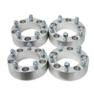 "(4) 2"" 5x5.5 to 5x5.5 Wheel Spacers 1/2"" studs Dodge Ram 1500 Ford F 100 Bronco Jeep CJ (5x139.7) Automotive"