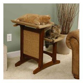 Deluxe Double Cat Seat Cat Furniture   Early American
