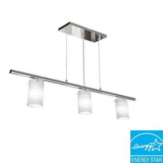 BAZZ Pure Collection 1 Light Hanging Chrome Conic Pendant LU3714TT