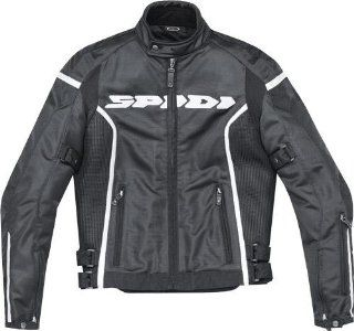 Spidi Sport S.R.L. Net GP Mesh Jacket , Apparel Material Textile, Size 3XL, Primary Color Black, Gender Mens/Unisex T131 026 3XL Automotive