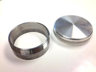 Lossa Engineering LB GC A weld in gas cap, aluminum bung Automotive
