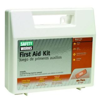 Safety Works 160 Piece First Aid Kit 10049585