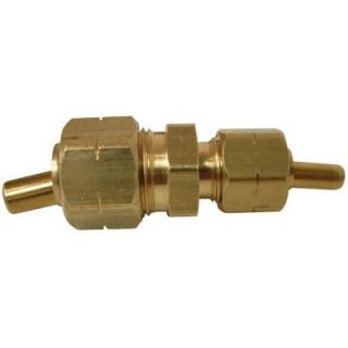 Watts 3/8 in. x 1/4 in. Lead Free Brass Compression x Compression Union with Insert LF A109