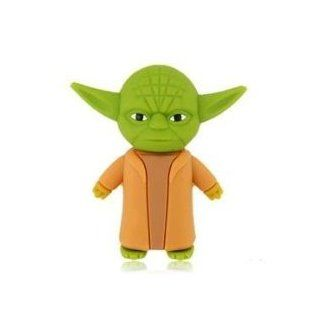 8GB Star Wars Jedi Master Yoda, Master Jedi Shaped Cute Cartoon USB Flash Drives, Data Storage Device, USB Memory Stick Pen, Thumb Drive Computers & Accessories