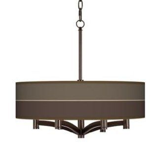 Lakebed Set Ava 6 Light Bronze Pendant Chandelier