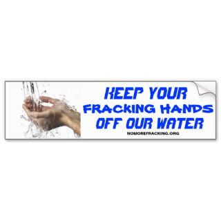 Concerned Citizens Against Fracking Bumper Stickers