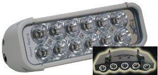 "Vision X XIL 120WV XMITTER 8"" Single Stack Euro Beam LED Light Bar WITH FREE LED CAP LIGHT Automotive"