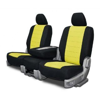Custom Fit Seat Covers For Ford & Lincoln 60 40 Seats   Yellow Neo Sport Fabric Automotive