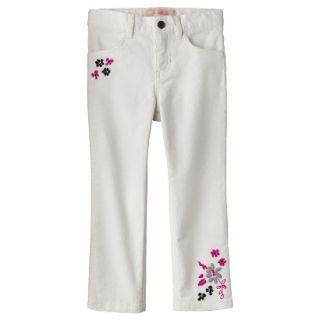 Genuine Kids from OshKosh Infant Toddler Girls Corduroy Pant   Polar Bear 5T