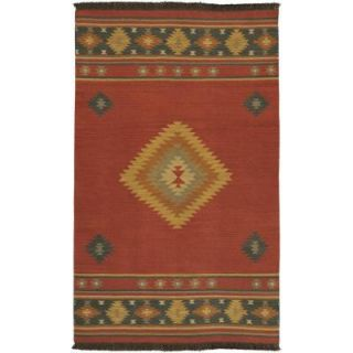 Artistic Weavers Megan Red Clay 5 ft. x 8 ft. Area Rug MEG 1033