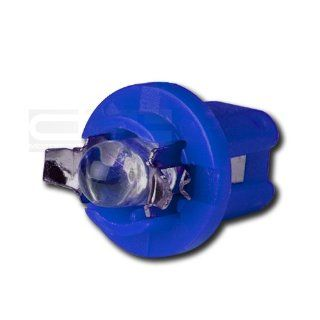 LED T5 B85D 1LED 5MM R BL, T5 Adapter B8 5D 2721 286 12V LED Bright Blue Led Wedge Light for Interior Dome Lamp Trunk Door Panel Center Map Console Bulb Automotive