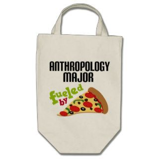 Anthropology Major Gift (Pizza) Canvas Bags