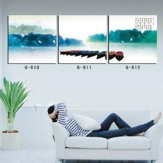MODERN ABSTRACT HUGE WALL Deco ART PAINTING ON CANVAS (No Frame) YIWU ART 268