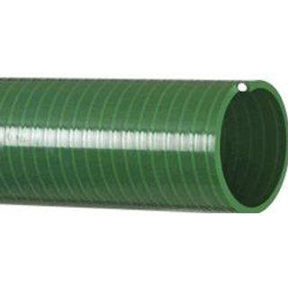 "Kanaflex Flexible PVC Heavy Duty Water Suction and Discharge Hose, Green, 6"" Hose ID, 6.67"" Hose OD, 50' Length"