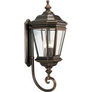 Progress Lighting Crawford Collection 4 light Oil Rubbed Bronze Wall Lantern P5673 108