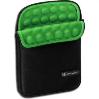 Body Glove Universal Protective e Reader Sleeve, Black/Green (9108701) Electronics