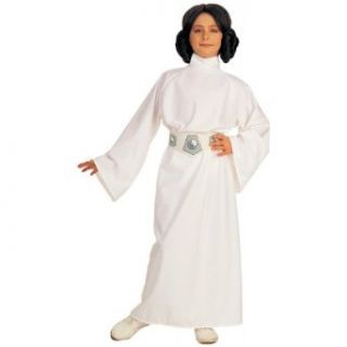 Kids Princess Leia Deluxe Costume Girls Medium Size 8 10 Toys & Games
