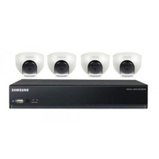 Samsung SDE 3003N with 4 Color Dome Cameras  Camera & Photo