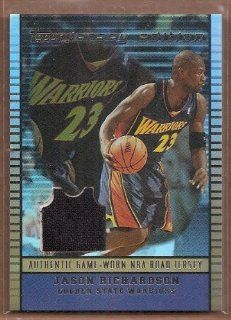 2002 03 Topps Jersey Edition Copper #JEJAR Jason Richardson R Jsy /299 Sports Collectibles