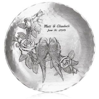 Handmade Love Birds Plate by Wendell August Forge Kitchen & Dining