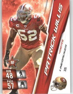 2010 Panini Adrenalyn XL NFL Trading Card #335 Patrick Willis   San Francisco 49ers   NFL Trading Card Sports Collectibles