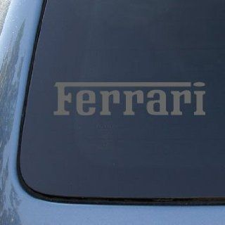 FERRARI   Vinyl Car Decal Sticker #A1600  Vinyl Color Silver Automotive