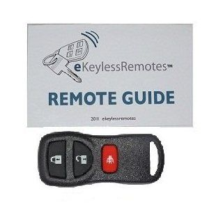 2007 2009 Nissan Versa + Hatchback Keyless Entry Remote Fob Clicker With Do It Yourself Programming+ eKeylessRemotes Guide Automotive