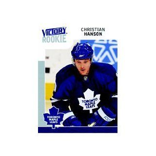 2009 10 Upper Deck Victory #217 Christian Hanson RC Sports Collectibles