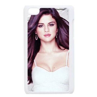 Hot Singer Selena Gomez Design Cases Protective Skin For Ipod Touch 4 ipod4 81710   Players & Accessories