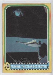 Filming the Star Destroyer (Trading Card) 1980 Star Wars Empire Strikes Back #348 Entertainment Collectibles