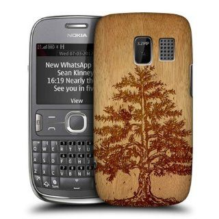 Head Case Designs Tree Wood Art Hard Back Case Cover for Nokia Asha 302 Cell Phones & Accessories