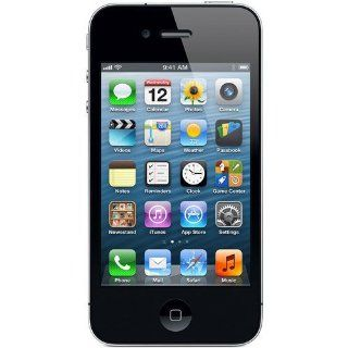 Apple iPhone 4 8GB, Black, for Straight Talk, No Contract Cell Phones & Accessories