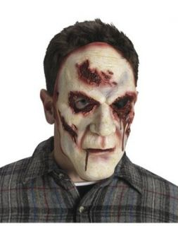 Fun World Men's Slaughter Face Bloody Eye Mask Multicoloured One Size Costume Masks Clothing