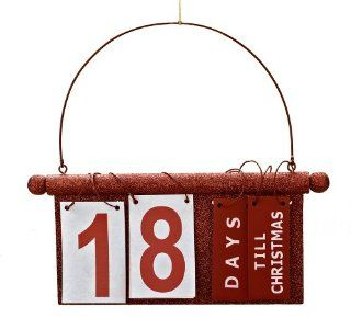 Roman Countdown To Christmas Sign Advent Calendar   Christmas Decor
